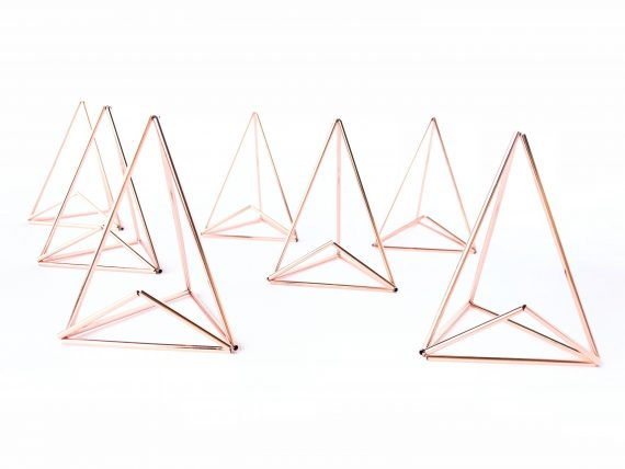 geo place card holders
