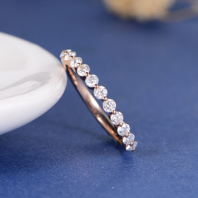 23 Most Unique Rose Gold Wedding Rings On Etsy