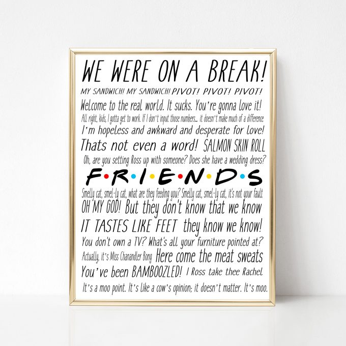 How to Plan a Friends Themed Bachelorette Party | Emmaline ...