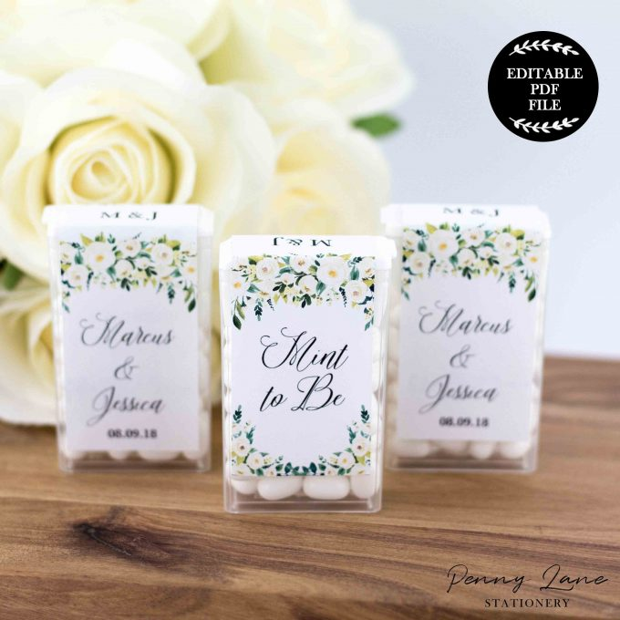 photo about Printable Wedding Favor Tags named 5 Do it yourself Marriage ceremony Prefer Tags Your self Can Print + Create Directly Currently
