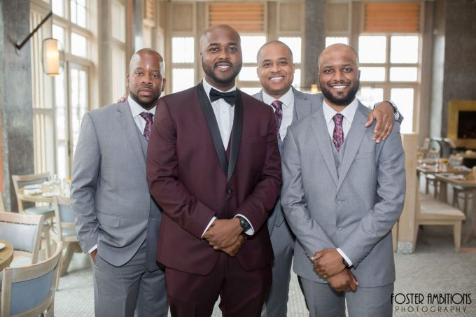 groomsmen - le club avenue wedding