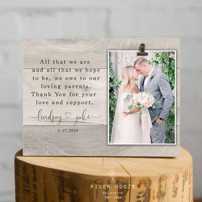 Wedding Gifts for Parents Wedding Gift Mother of the Bride Wedding Gift for Parents Christmas Gift 10 X 20 A151 Parents Wedding Gift