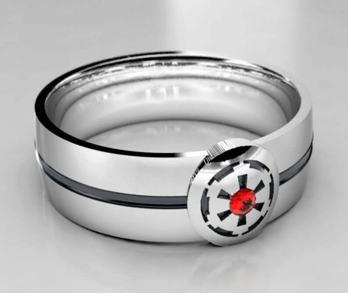 The Most Legendary Star Wars Wedding Rings For Him Photos