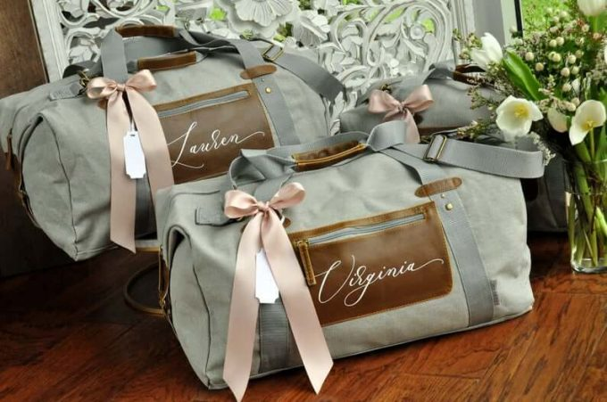 overnight bag for bridesmaids