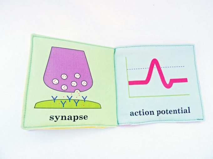 science baby book
