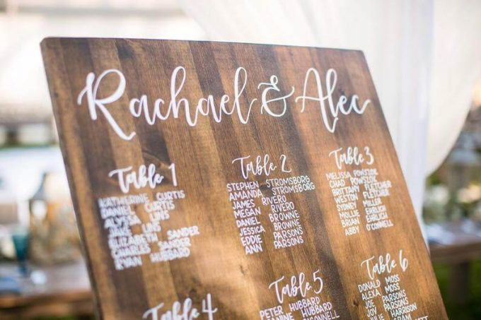 Where To Buy Wooden Wedding Signs Bridalpulse