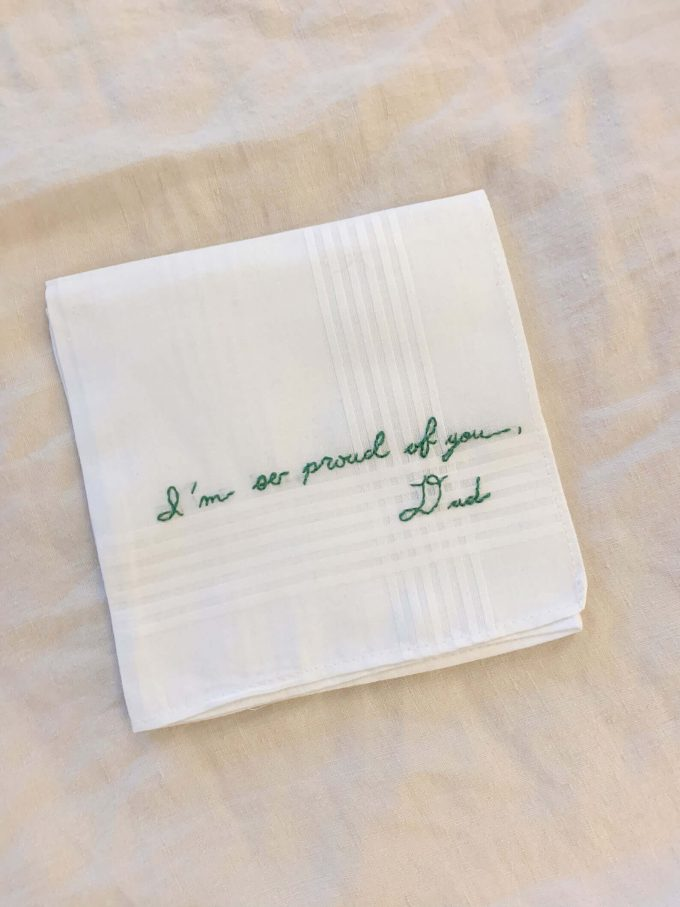 gifts made from handwriting