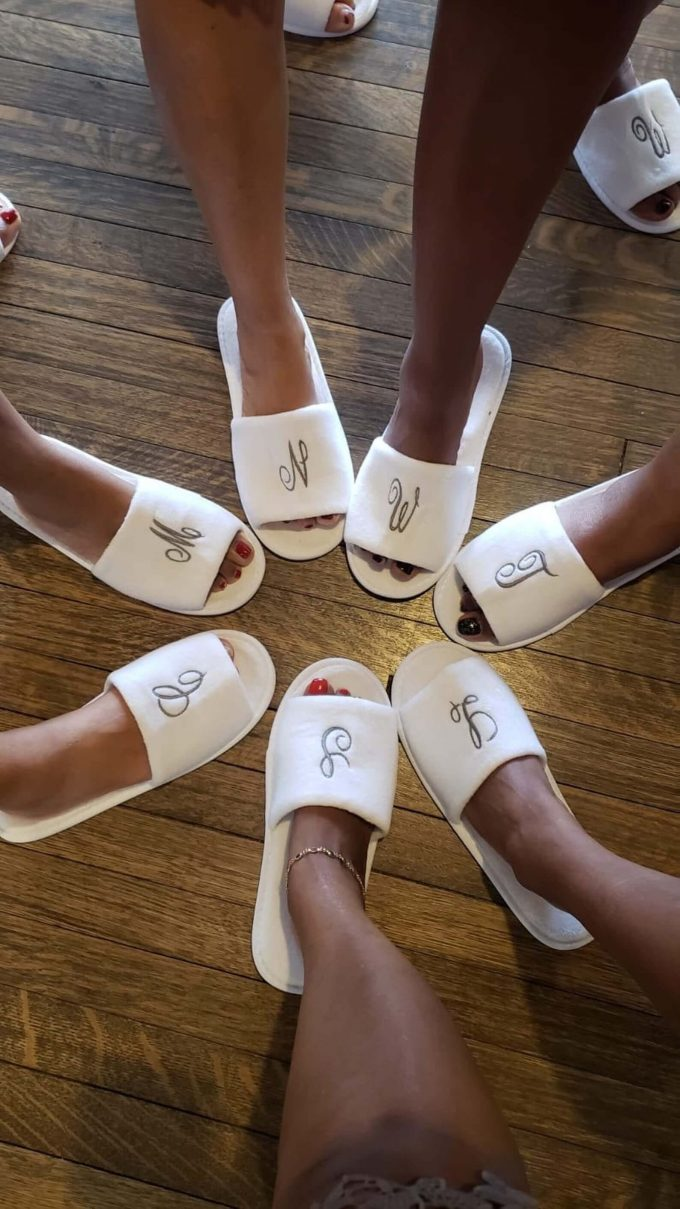 bridesmaid slippers bulk