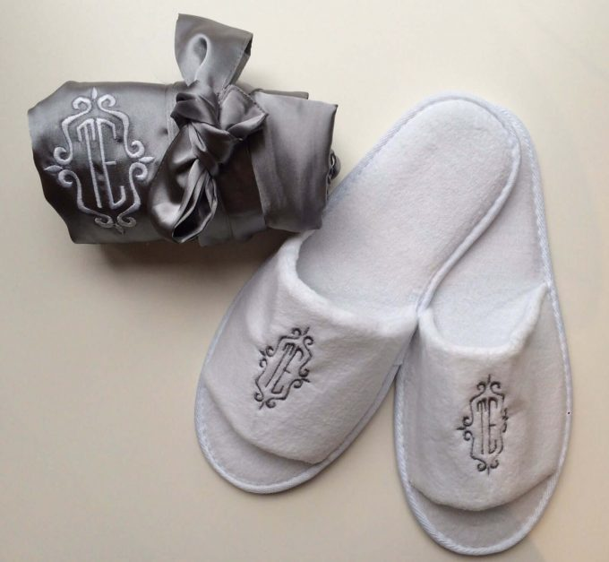 slippers for bridesmaids