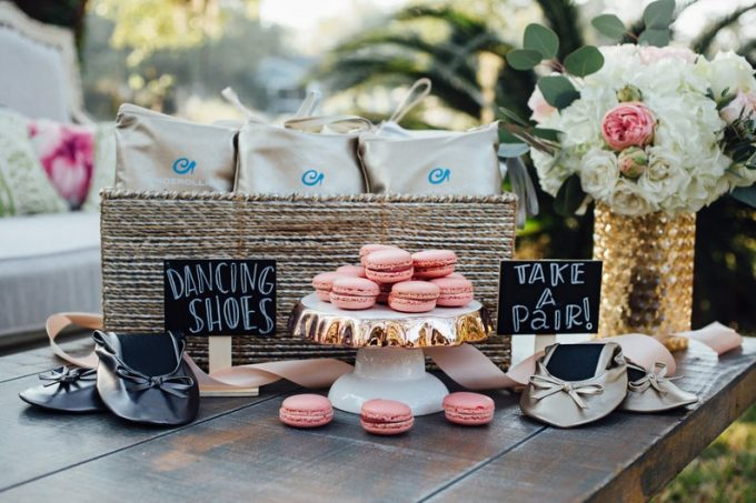 wedding flats for guests in bulk as dancing shoes