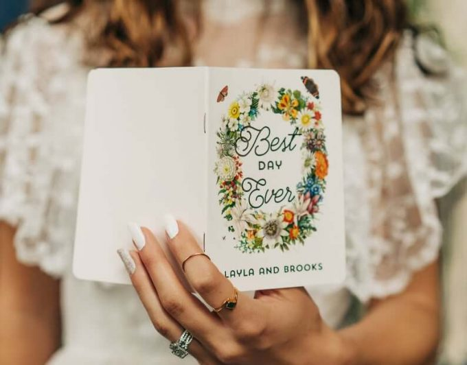 Where To Buy Vow Books for Weddings