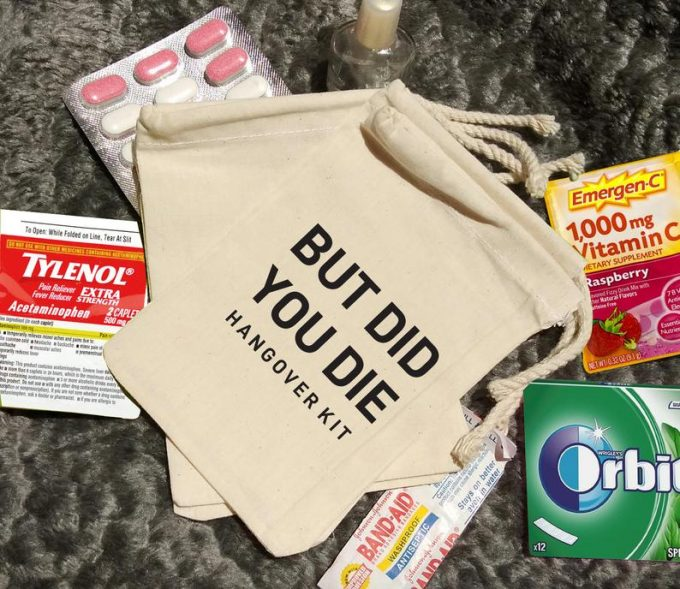 but did you die hangover kit