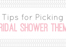 3 tips for picking a bridal shower theme