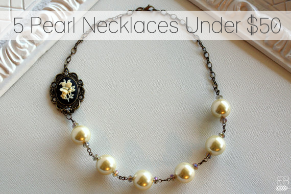 5 Pearl Necklaces Under 50