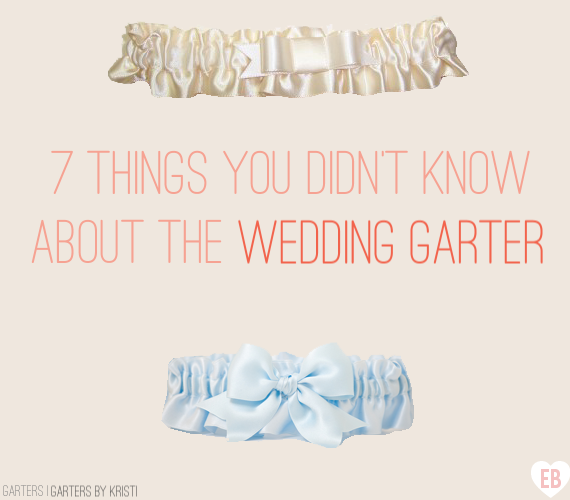 7 (Surprising!) Things You Didn't Know about the Wedding Garter (garters by Garters by Kristi, feature via EmmalineBride.com) #handmade #garter #bride #wedding