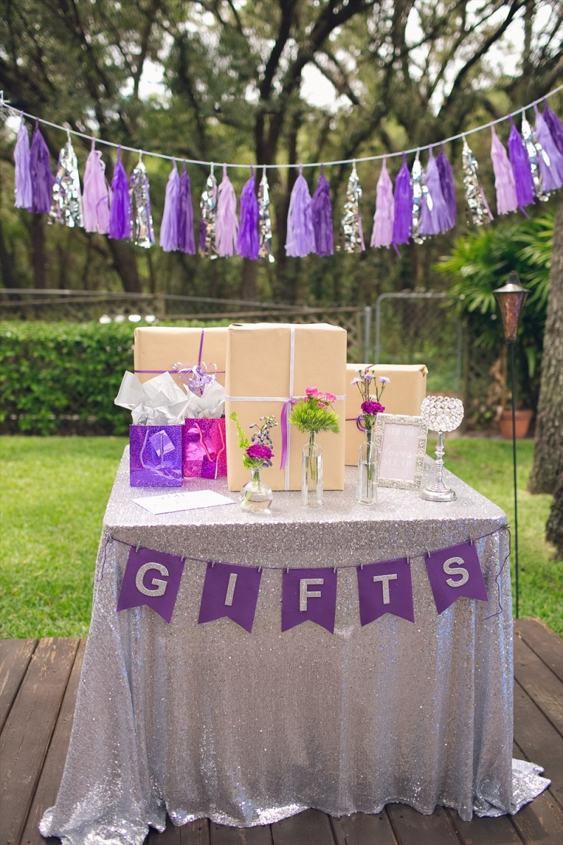 Rustic Glam Bridal Shower   styled: adore amor event planning, photo: little blue bird photography   http://emmalinebride.com/shower/rustic-glam-bridal-shower/