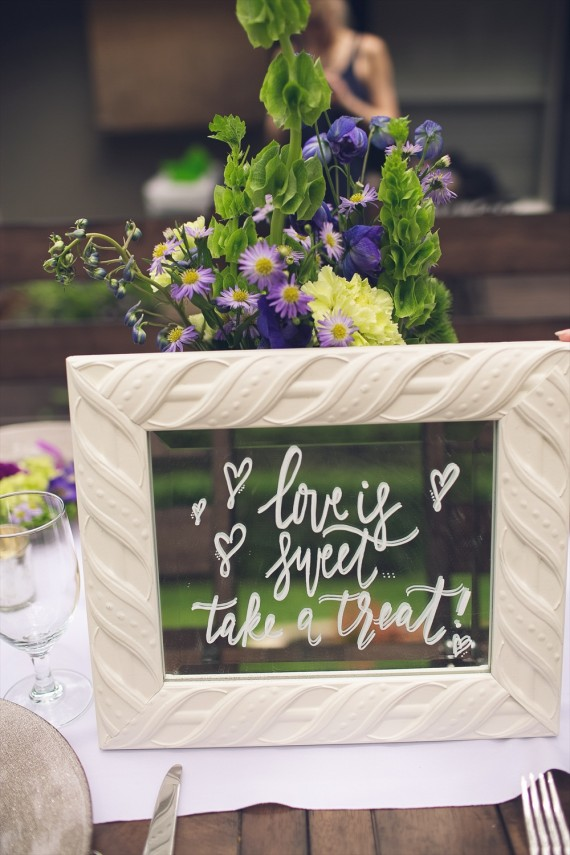Take a Treat   Rustic Glam Bridal Shower   styled: adore amor event planning, photo: little blue bird photography   http://emmalinebride.com/shower/rustic-glam-bridal-shower/