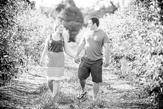 Annie & Josh's Engagement - Somers engagement session