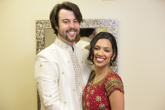 Daniel Fugaciu Photography - wedding couple Indian dress garments