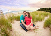 Frankfort Michigan _ _ Rayan Anastor Photography _ Michigan Engagement Photographer 3