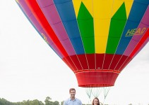 Hot Air Balloon Engagement Session-31