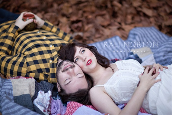 Kali Norton Photography - couple laying on a blanket