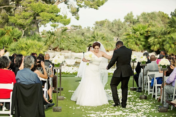 Imagine Studios - outdoor las vegas wedding