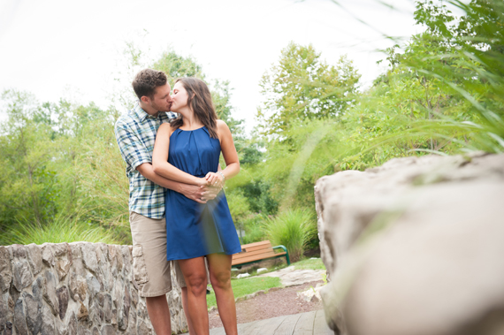 Scott Smith Photography - couple kissing at Manor House engagement shoot at Prophecy Creek