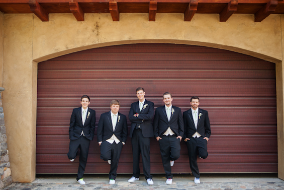 Johnstone Studios - fairytale nevada wedding, groomsmen looking cool