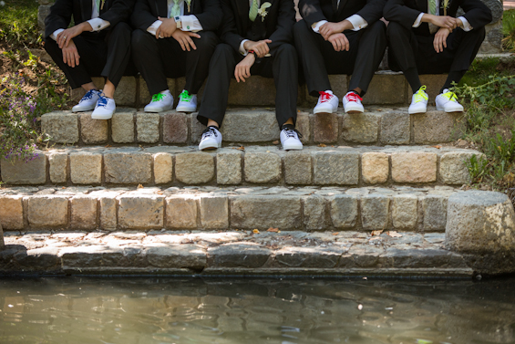 Johnstone Studios - fairytale nevada wedding, groomsmen shoes