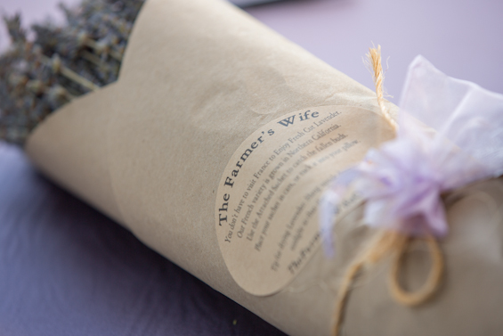 Johnstone Studios - lake tahoe wedding - lavender for the wedding