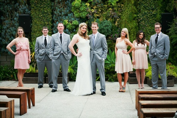 DIY Wedding Ideas: The Wedding Party | photo by Meghan Christine Photography