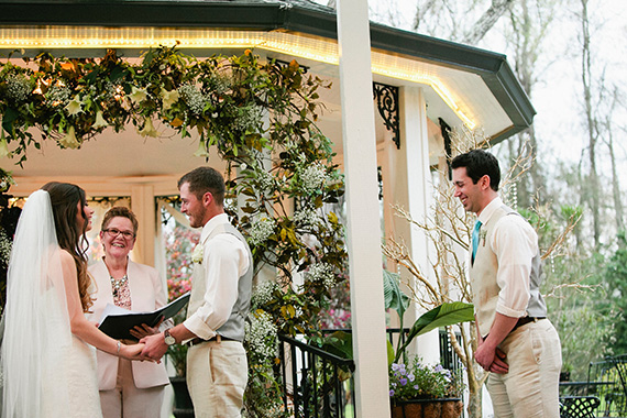 Tate Tullier Photography - Gatehouse wedding - bride-and-groom-at-gazebo