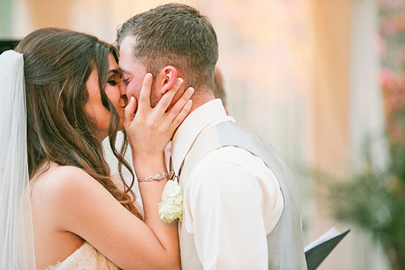 Tate Tullier Photography - Gatehouse wedding - bride-and-groom-kiss