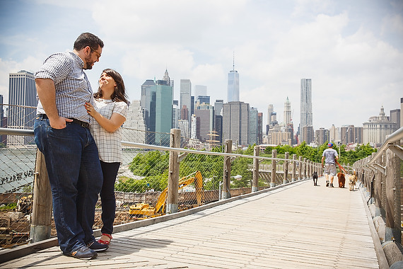 Butler Photography, LLC - Brooklyn Bridge Engagement Session