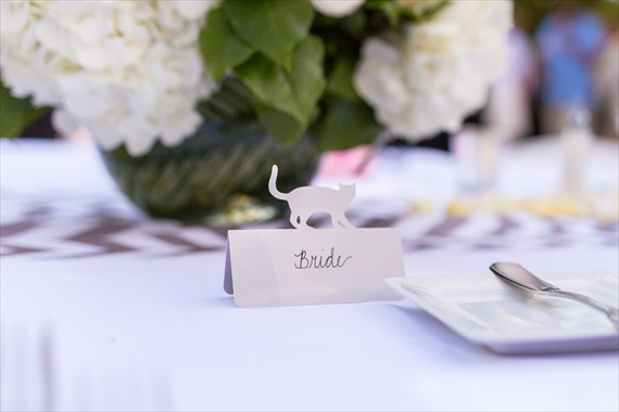 Filda Konec Photography - Hemingway House Wedding - bride seat card
