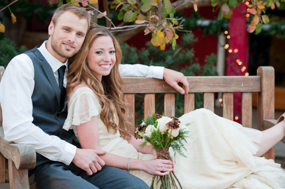 Emma + Josh - Christmas Themed Wedding