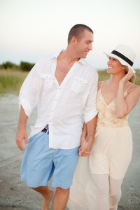 Topsail Island Engagement Pictures-14