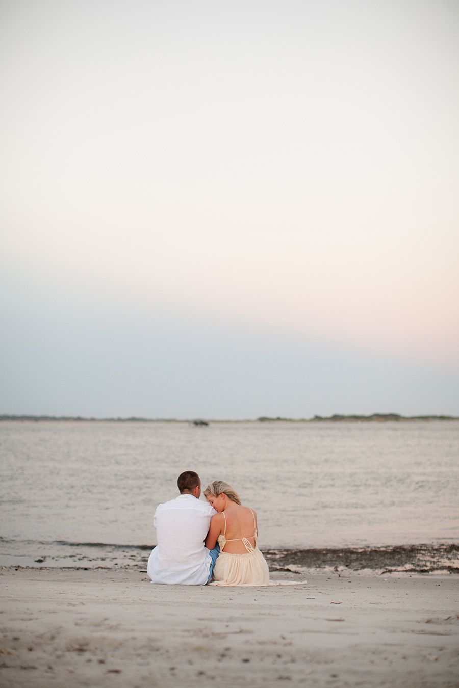 Topsail Island Engagement Pictures-17