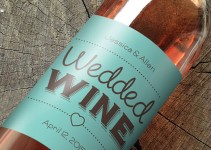 wine labels wedding