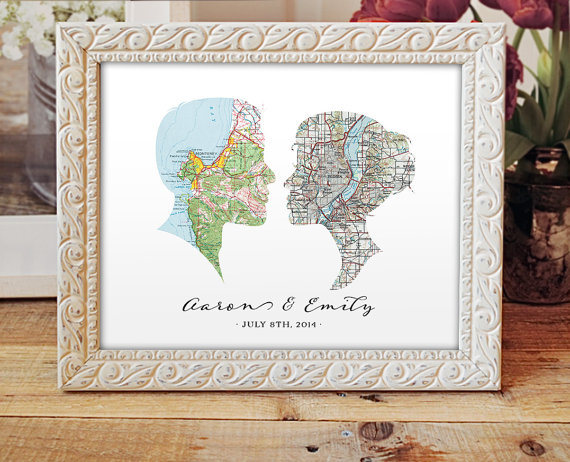 Map Wedding Ideas