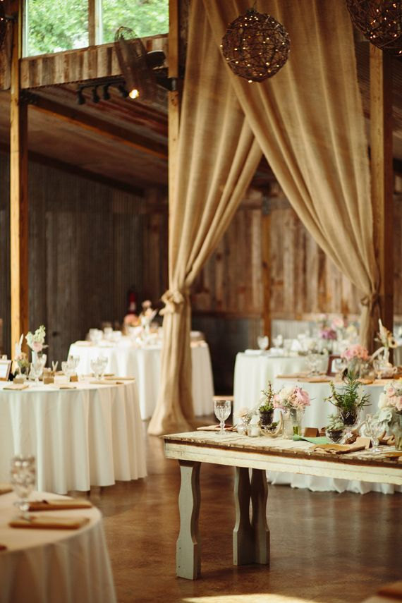 amazing burlap panels | 50 Best Burlap Wedding Ideas | via http://emmalinebride.com/decor/burlap-wedding-ideas/