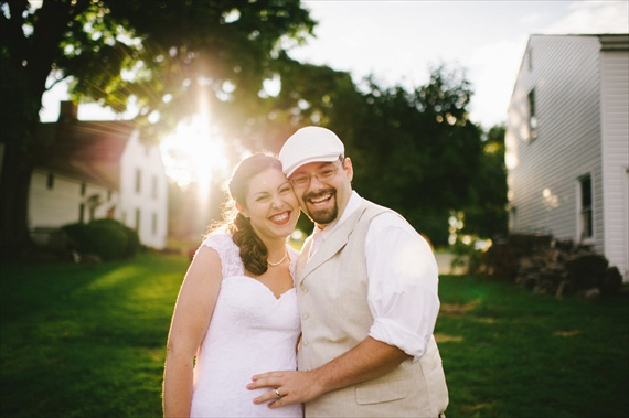 americana-wedding-bride-groom (photo: michelle gardella)