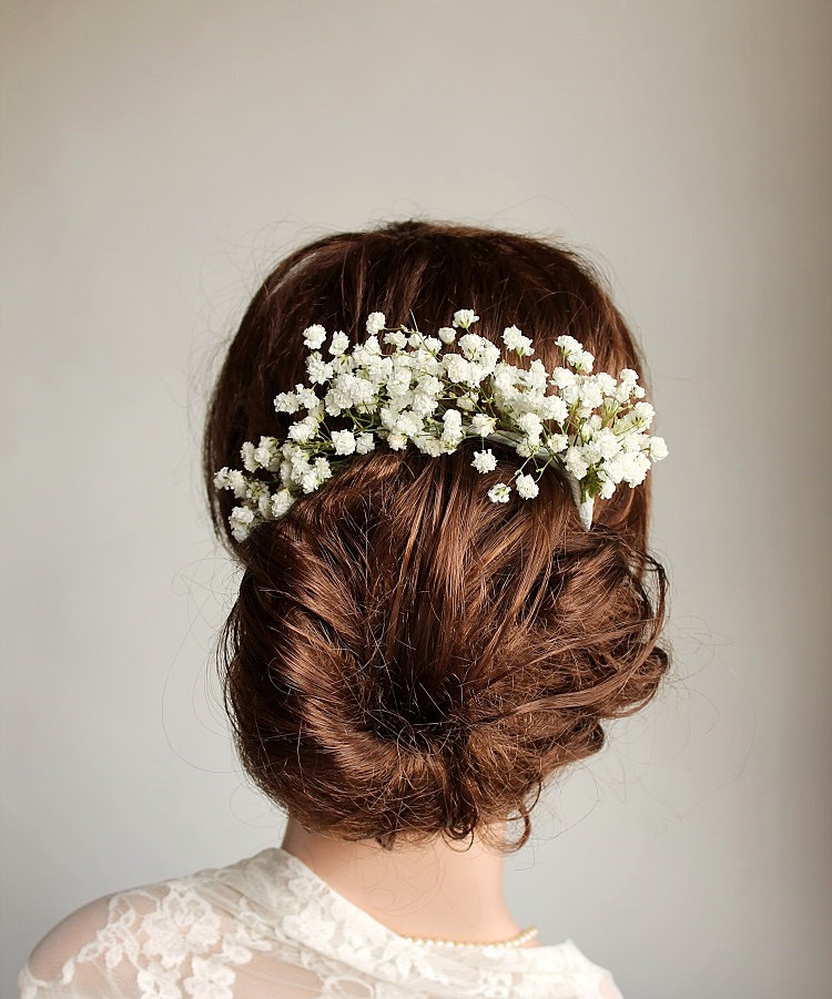 Baby's Breath Hair Accessory