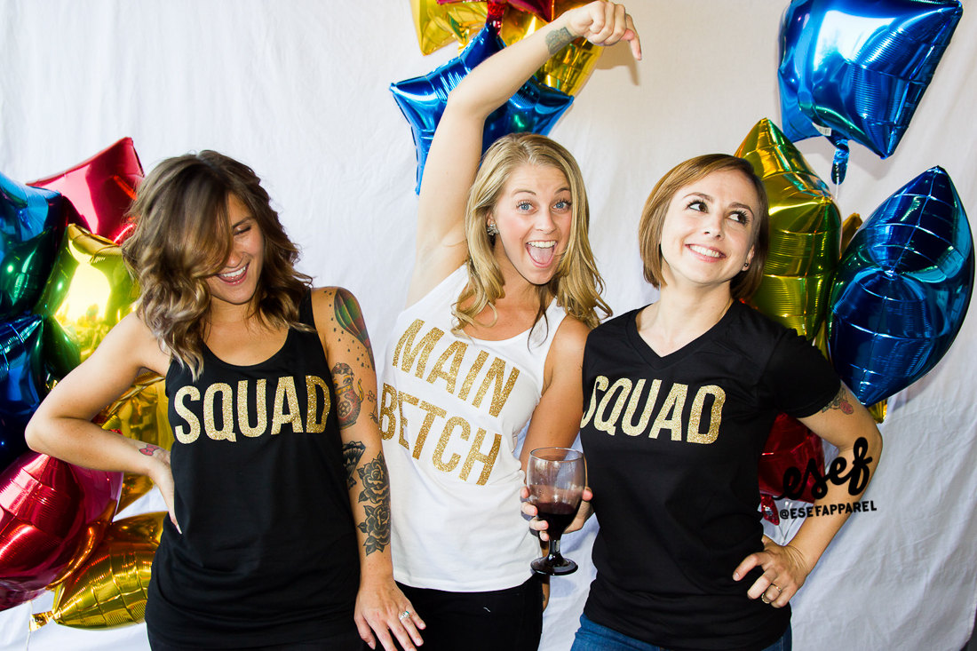 bachelorette party shirts main betch and squad | by esf apparel | fun bachelorette party ideas | https://emmalinebride.com/planning/fun-bachelorette-party-ideas/