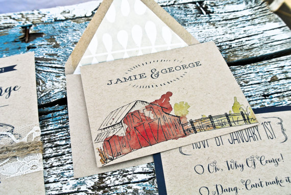 barn wedding theme ideas