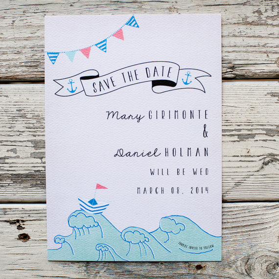 Themed Save the Dates (by In Or Out Media)