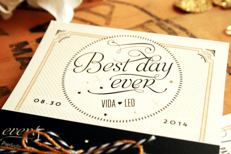 best day ever infographic | via Starry Night Weddings http://emmalinebride.com/vintage/starry-night-weddings-ideas/