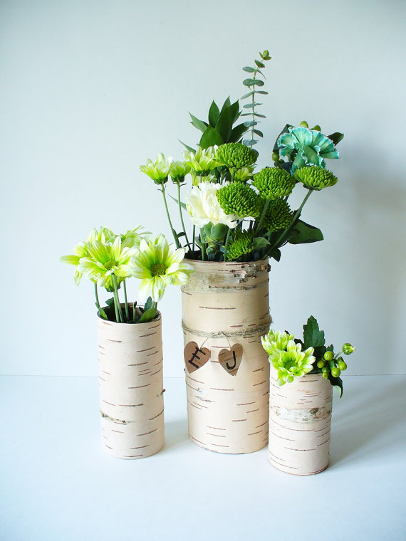 birch bark vases (by jaden rai inspired)