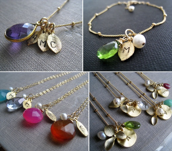 Birthstone Bridesmaid Jewelry